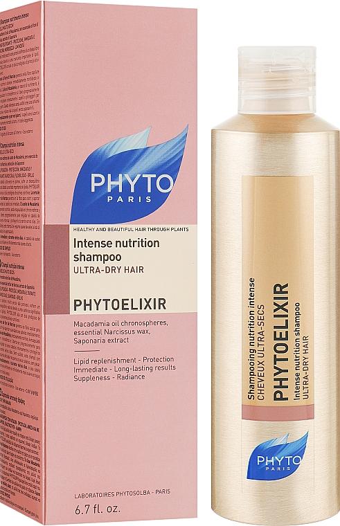 """Шампунь """"Интенсивное питание"""" для сухих волос - Phyto Phytoelixir Shampooing Nutrition Intense"""
