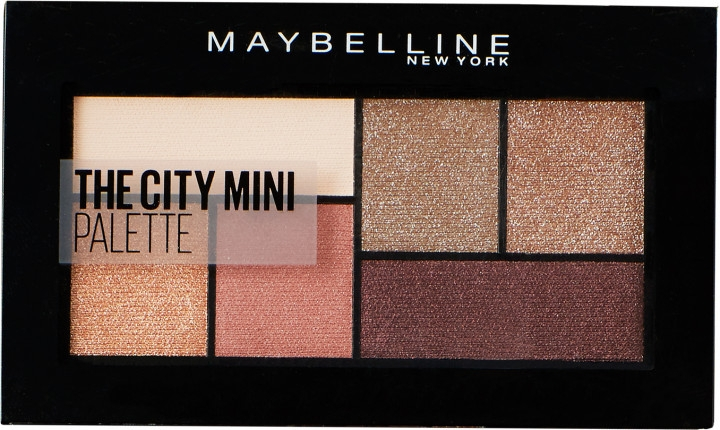 Палитра теней для век - Maybelline New York The City Mini Palette