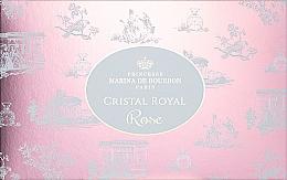 Духи, Парфюмерия, косметика Marina de Bourbon Cristal Royal Rose - Набор (edp/50ml + b/lot/150ml + bag)