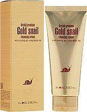 Очищающий крем с муцином улитки - The Orchid Skin Premium Snail Cleansing Cream — фото N1