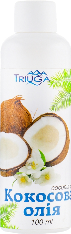 Кокосовое масло рафинированное - Triuga