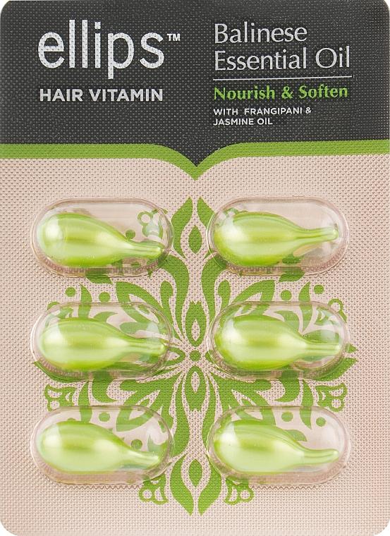 "Витамины для волос ""Питание и мягкость Бали"" - Ellips Hair Vitamin Balinese Essential Oil Nourish & Soften"