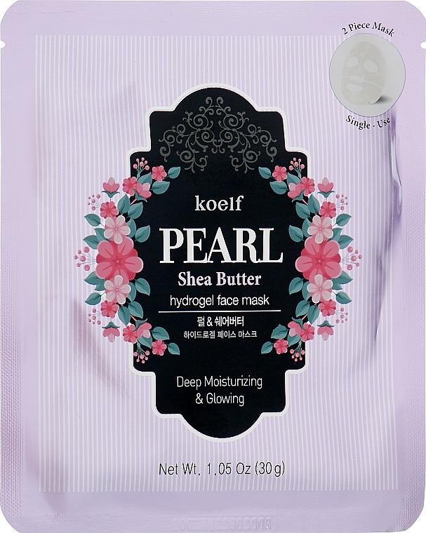 Гидрогелевая маска для лица с жемчугом и маслом ши - Petitfee&Koelf Pearl & Shea Butter Hydro Gel Mask
