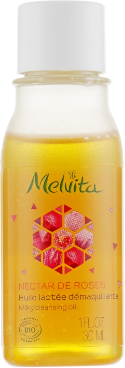 Очищающее масло для снятия макияжа - Melvita Nectar De Rose Milky Cleansing Oil