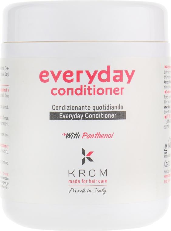 Кондиционер для ежедневного ухода с пантенолом - Krom Everyday Conditioner