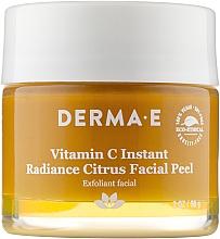 Духи, Парфюмерия, косметика Осветляющий пилинг для лица цитрусовый - Derma E Vitamin С Instant Radiance Citrus Facial Peel