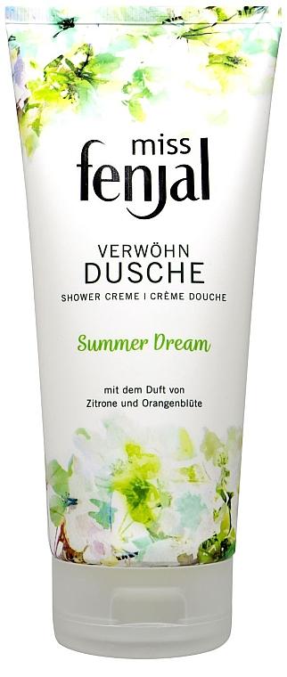 """Крем для душа """"Летние мечты"""" - Fenjal Miss Summer Dream Shower Cream"""
