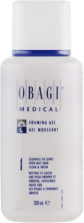 Гель-пенка для нормальной и жирной кожи - Obagi Medical Nu-Derm Foaming Gel