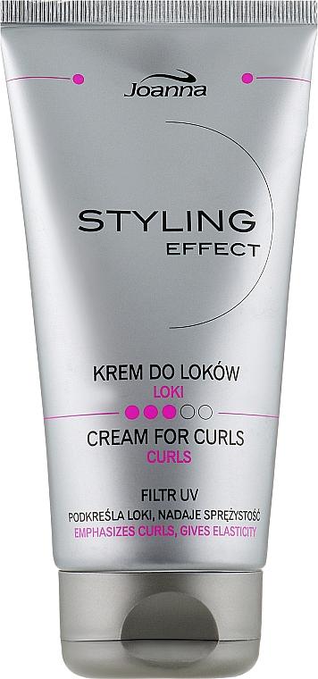 Крем для укладки вьющихся волос - Joanna Styling Effect Cream For Curls