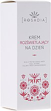 Духи, Парфюмерия, косметика Осветляющий дневной крем для лица - Rosadia Face Day Cream