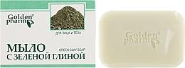 Духи, Парфюмерия, косметика Мыло с зеленой глиной для лица и тела - Голден-Фарм