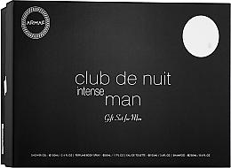 Духи, Парфюмерия, косметика Armaf Club De Nuit Intense Man - Набор (edt/105ml + deo/spray/200ml + sh/gel/100ml + sh/250ml)