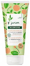 Духи, Парфюмерия, косметика Персиковый шампунь - Klorane Junior Peach Detangling Shampoo