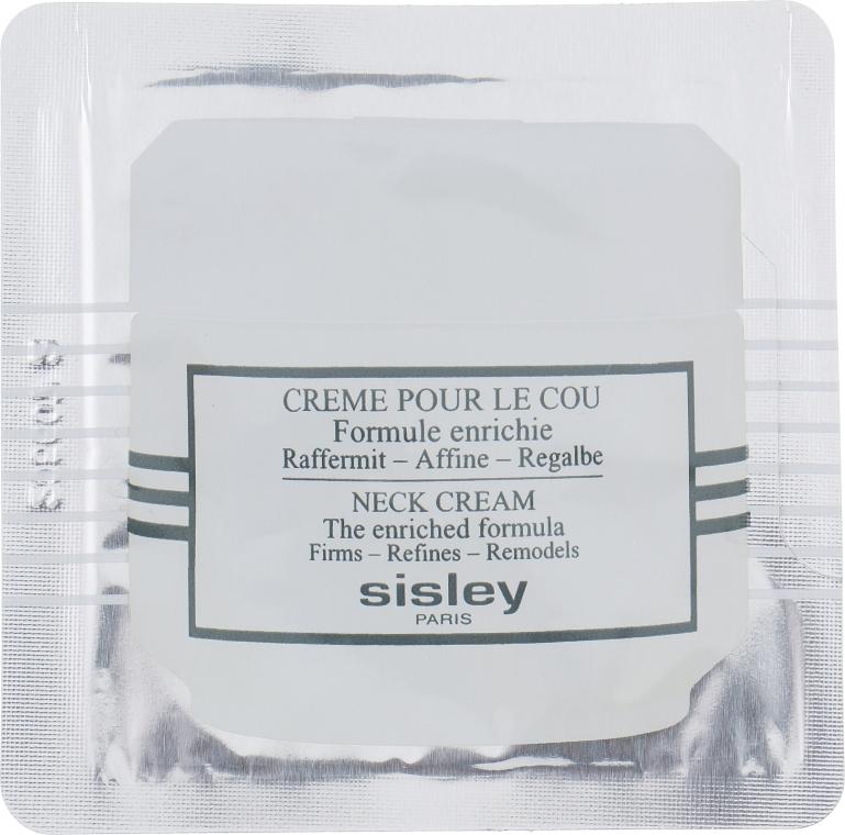 Крем для шеи обогащенная формула - Sisley Creme pour le Cou Formule Enrichie (пробник)