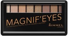 Духи, Парфюмерия, косметика Палетка теней для век - Rimmel Magnifeyes Eyeshadow Palette