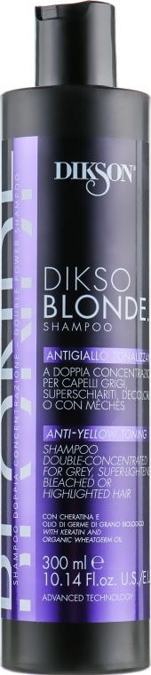 Шампунь для светлых волос - Dikson Dikso Blonde Shampoo