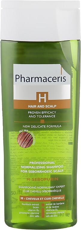 Нормализующий шампунь для жирных волос и себорейной кожи головы - Pharmaceris H H-Sebopurin Shampoo for Seborrheic Scalp