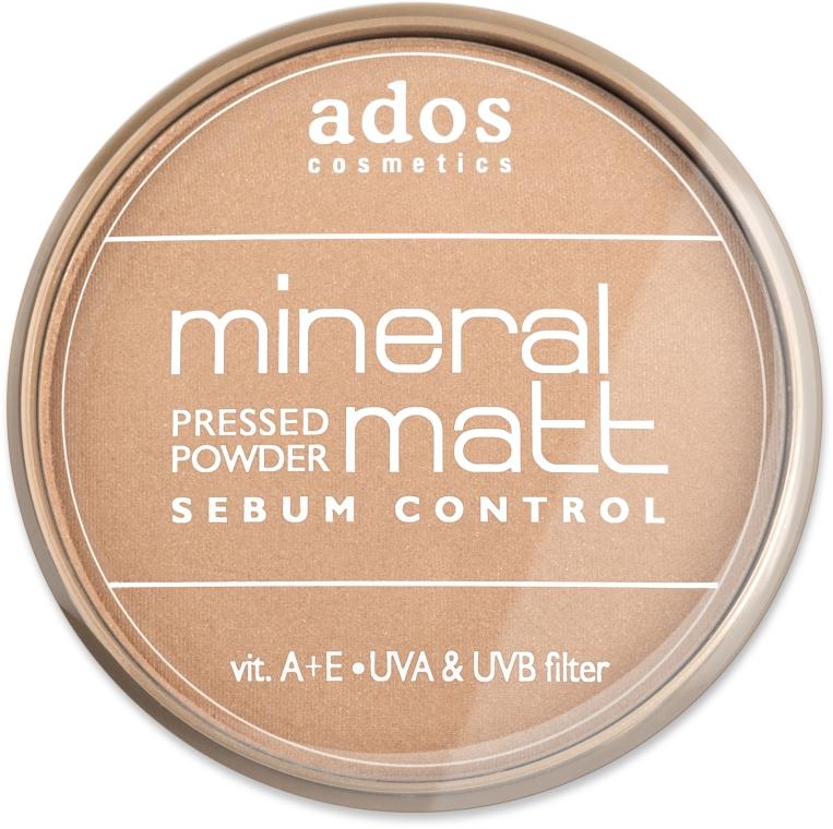 Пудра для лица - Ados MINERAL MATT