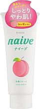 Духи, Парфюмерия, косметика Пенка для умывания и удаления макияжа с экстрактом листьев персикового дерева - Kanebo Naive