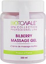 Крем-масло для массажа с черникой - Biotonale Bilberry Massage Gel — фото N3