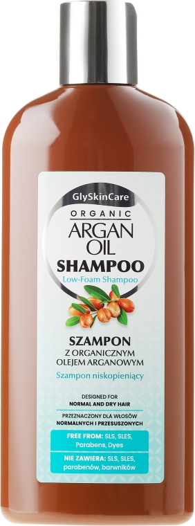 Шампунь для волос с аргановым маслом - GlySkinCare Argan Oil Hair Shampoo