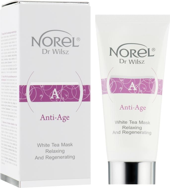 Кремовая маска для зрелой комбинированной кожи с белым чаем - Norel Anti-Age White Tea Mask