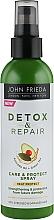 Парфумерія, косметика Незмивний спрей для зміцнення волосся з термозахистом - John Frieda Detox & Repair Care & Protect Spray