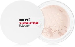 Духи, Парфюмерия, косметика Рассыпчатая пудра - Miyo Transparent Finish Powder