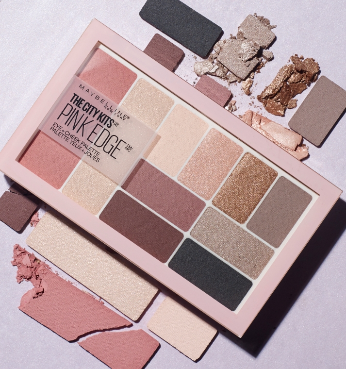 Палетка для макияжа - Maybelline New York City Kit Eye & Cheek Palette — фото N5