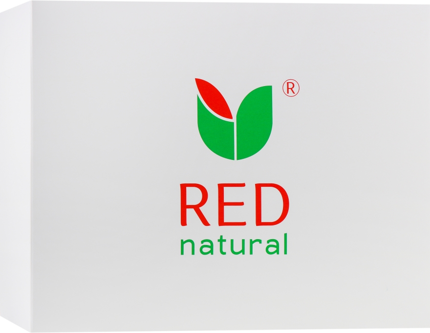 Набор - Red Natural (shm/200ml + sh/gel/200ml + t/paste/100g + soap/250ml + soap/100g)