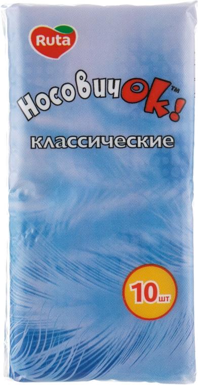 """Бумажные носовые платки """"НосовичОК"""" - Ruta"""