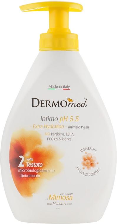 Гель для интимной гигиены с экстрактом мимозы - Dermomed Intimo Lenitivo