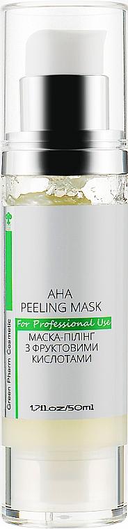 Маска-пилинг с фруктовыми кислотами - Green Pharm Cosmetic Peeling Masks PH 4