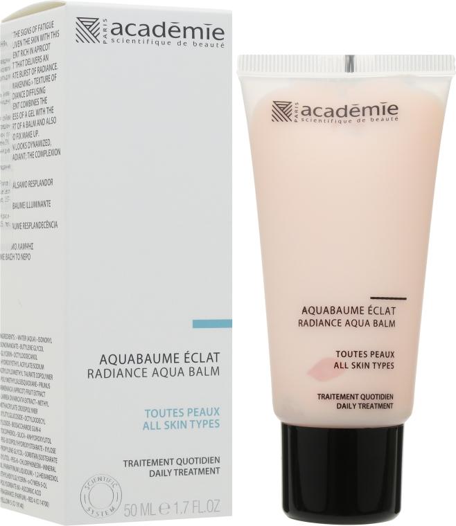 """Абрикосовый крем-бальзам для лица """"Сияние"""" - Academie Visage Radiance Aqua Balm"""