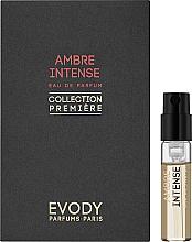 Духи, Парфюмерия, косметика Evody Parfums Ambre Intense - Парфюмированная вода (пробник)