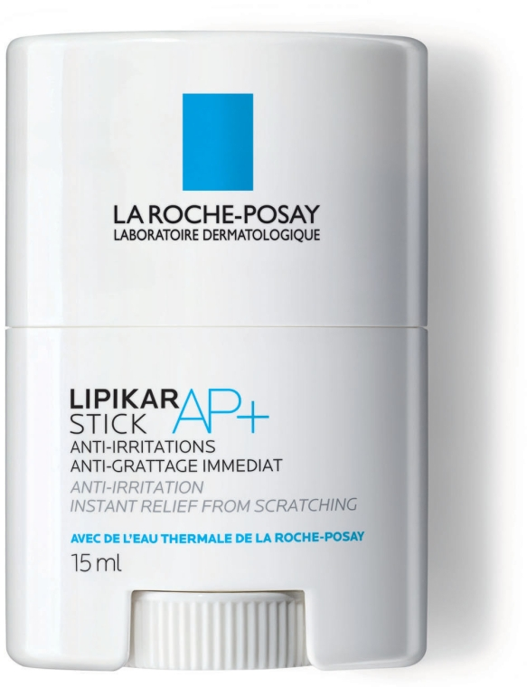 Успокаивающее восстанавливающее средство моментального действия - La Roche-Posay Lipikar Stick AP+