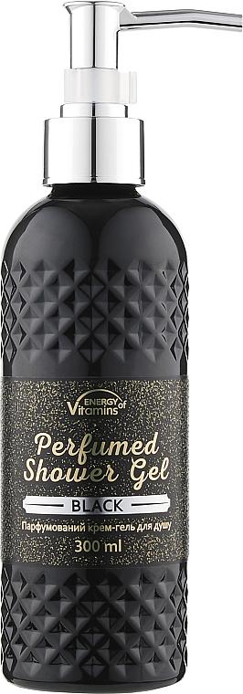 Парфюмированный крем-гель для душа - Energy of Vitamins Perfumed Black
