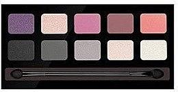 Духи, Парфюмерия, косметика Палетка теней для век - Pierre Rene Palette Match System Eyeshadow Purple Rain
