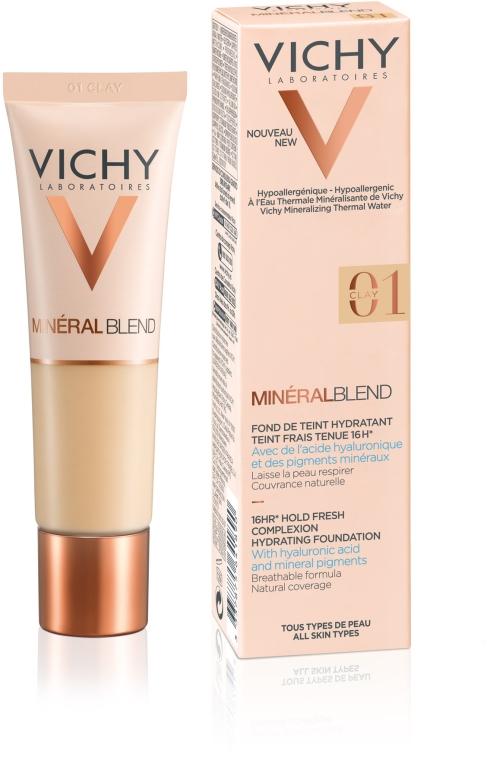 Тональный крем увлажняющий - Vichy Mineralblend Cream — фото N2