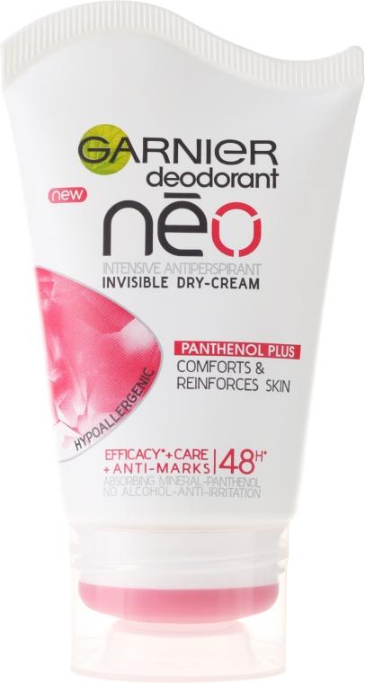 Дезодорант-крем - Garnier Neo Dry-Cream Deodorant Panthenol Plus
