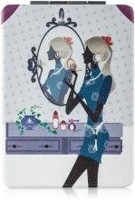 Духи, Парфюмерия, косметика Зеркало косметическое длинное, девушка - Lily Cosmetics