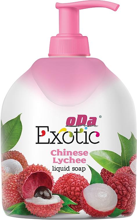 """Жидкое мыло """"Китайское личи"""", в полимерной бутылке - ODA"""