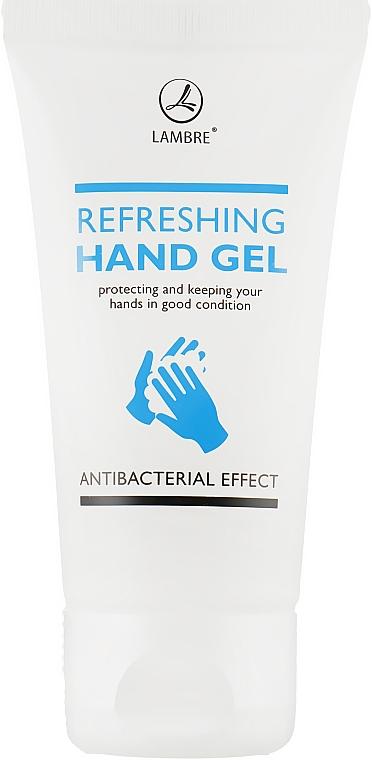 Антибактериальный освежающий гель для рук - Lambre Refreshing Hand Gel