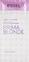 Парфумерія, косметика Блиск-шампунь для світлого волосся - Estel Professional Prima Blonde Shampoo (пробник)
