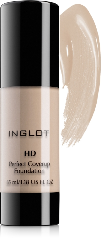 Тональный крем для лица - Inglot Freedom System HD Perfect Coverup Foundation