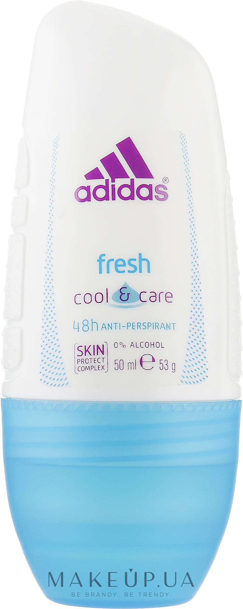 Роликовий дезодорант - Adidas Anti-Perspirant Fresh Cooling 48h — фото 50ml