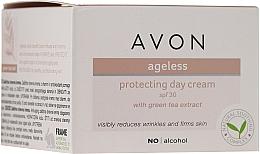 Духи, Парфюмерия, косметика Дневной защитный крем для лица с экстрактом зеленого чая - Avon Ageless Protacting Day Cream SPF 30