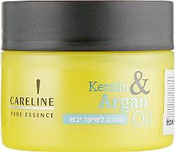 """Духи, Парфюмерия, косметика Маска для сухих волос """"Кератин и Аргановое масло"""" - Careline Pure Essence Mask for Dry Hair"""