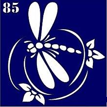 Духи, Парфюмерия, косметика Трафарет для боди-арта, 6х6 см, 85 - Biofarma