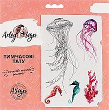 """Духи, Парфюмерия, косметика Флеш-тату переводные """"Подводное царство"""" - Arley Sign"""